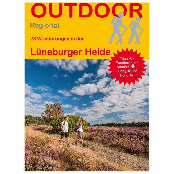 Conrad Stein Verlag - 28 Wanderungen in der Lüneburger Heide