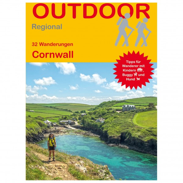 Conrad Stein Verlag - 30 Wanderungen Cornwall - Vandreguides