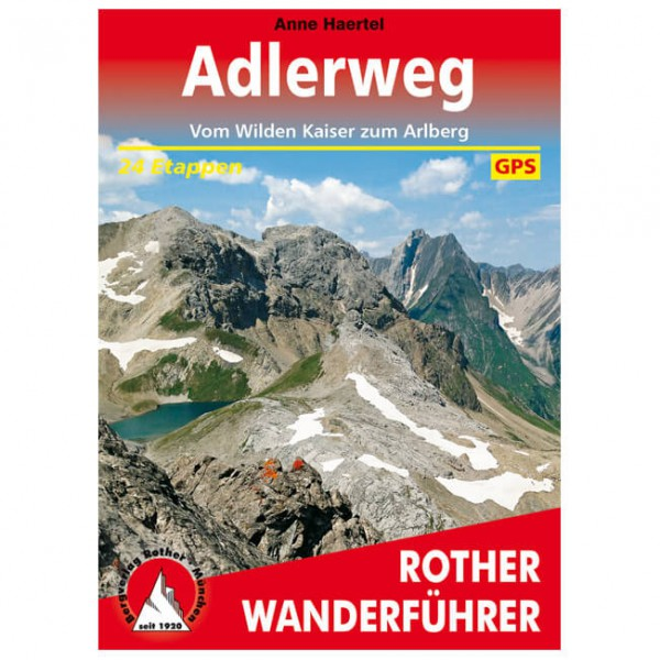 Bergverlag Rother - Adlerweg - Guías de senderismo