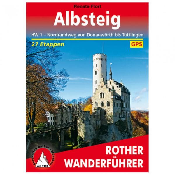 Bergverlag Rother - Albsteig - Wandelgids