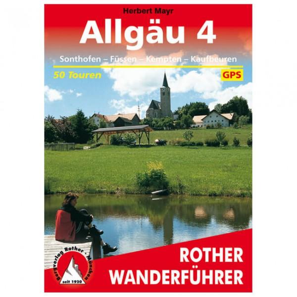 Bergverlag Rother - Allgäu 4 - Vandringsguider
