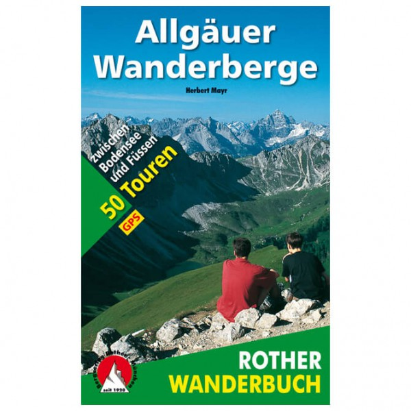 Bergverlag Rother - Allgäuer Wanderberge - Walking guide book
