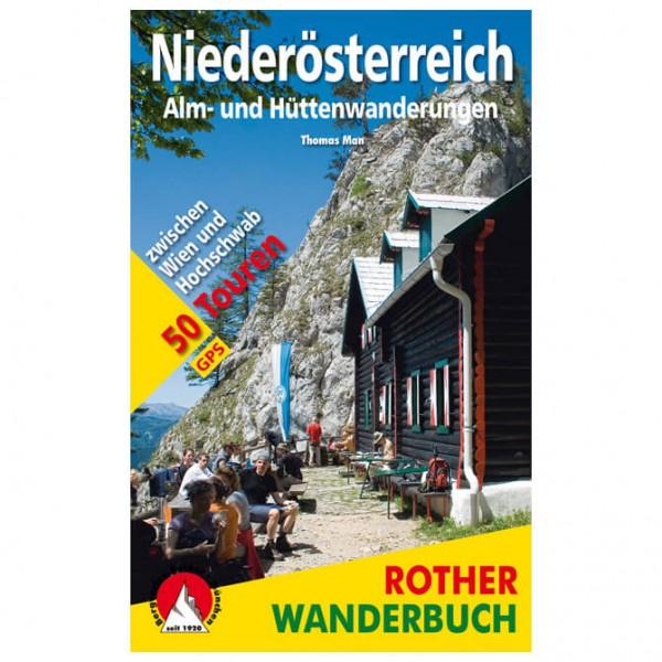 Bergverlag Rother - Almwanderungen Niederösterreich - Walking guide book
