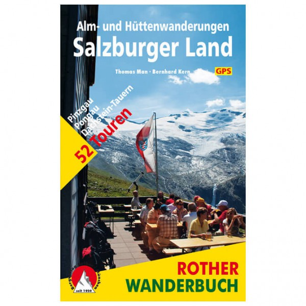 Bergverlag Rother - Alm- & Hüttenwanderungen Salzburger Land
