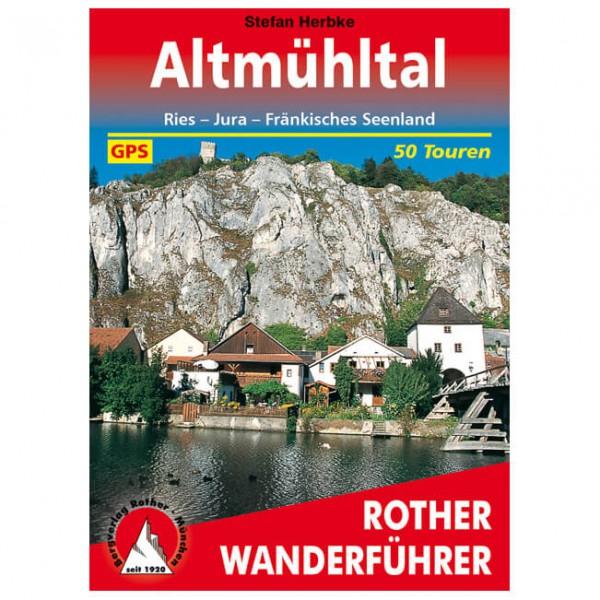 Bergverlag Rother - Altmühltal - Guide de randonnée