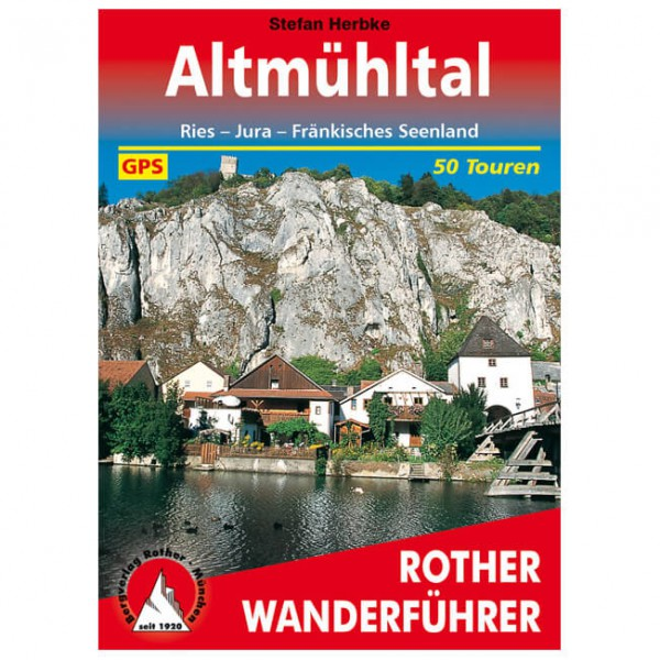 Bergverlag Rother - Altmühltal - Wanderführer