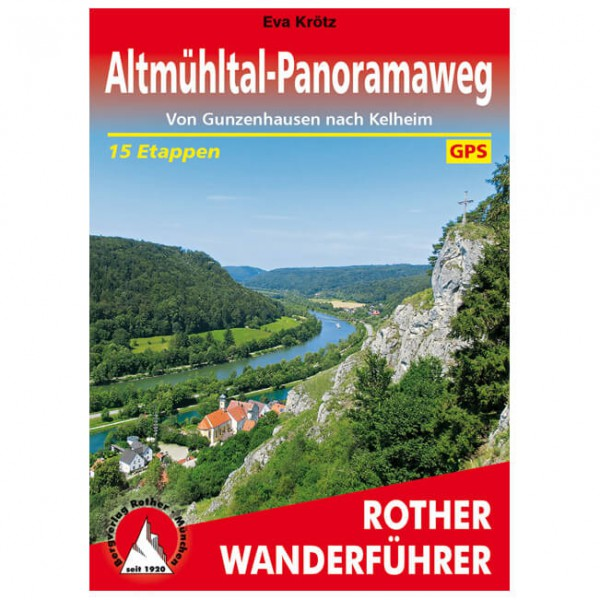 Bergverlag Rother - Altmühltal-Panoramaweg - Hiking guides