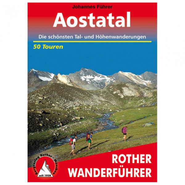 Bergverlag Rother - Aostatal - Wandelgids