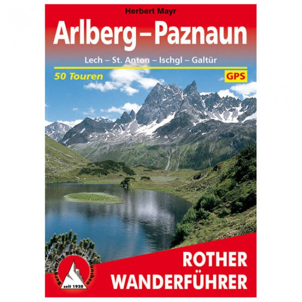 Bergverlag Rother - Arlberg - Paznaun - Walking guide book