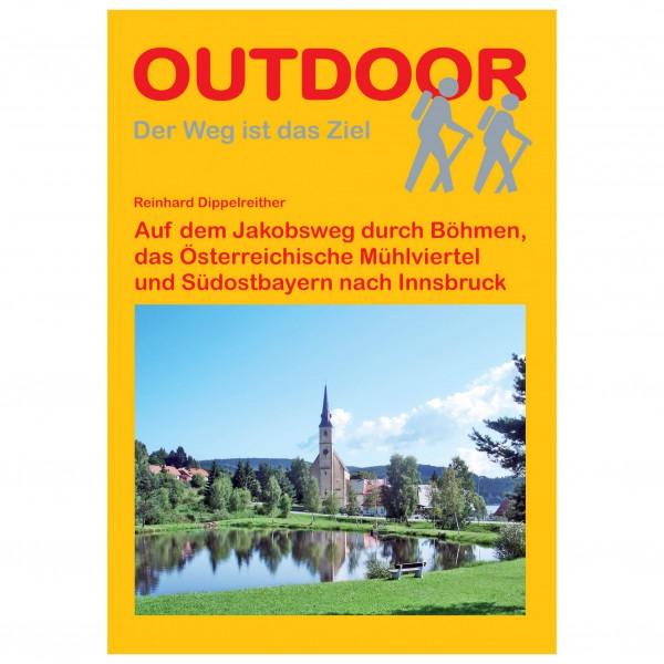 Conrad Stein Verlag - Jakobsweg von Böhmen nach Innsbruck - Walking guide book