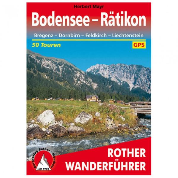 Bergverlag Rother - Bodensee bis Rätikon - Wanderführer