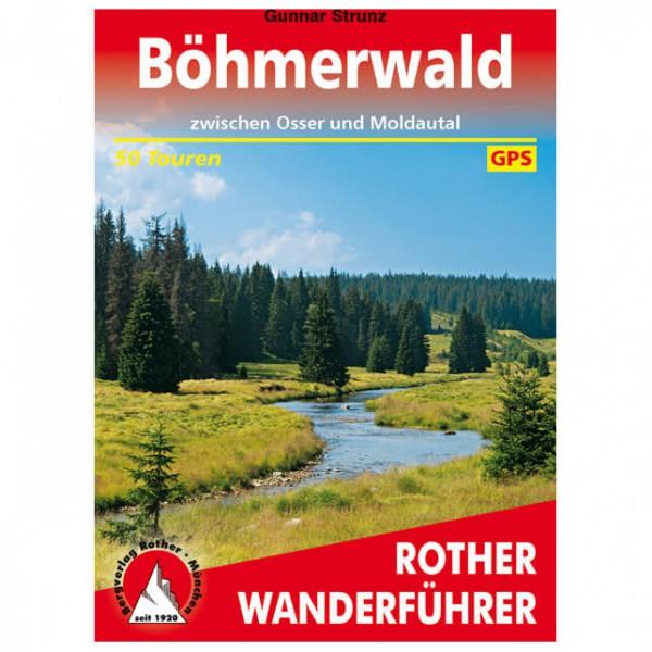 Bergverlag Rother - Böhmerwald - Vandringsguider