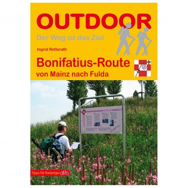 Conrad Stein Verlag - Bonifatius-Route - Wandelgids