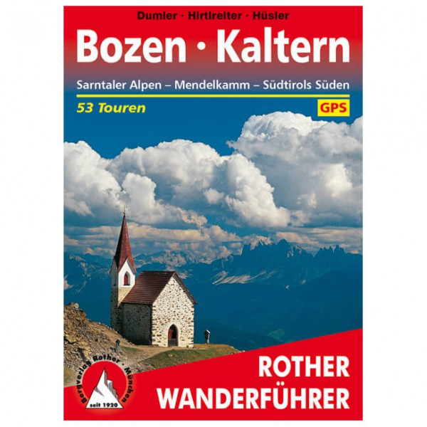 Bergverlag Rother - Bozen - Kaltern - Walking guide book