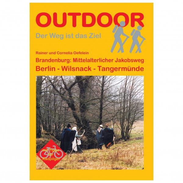 Conrad Stein Verlag - Brandenburg: Mittelalterl. Jakobsweg - Vandreguides