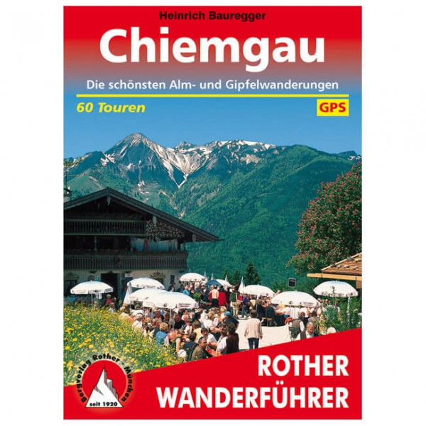 Bergverlag Rother - Chiemgau - Hiking guides