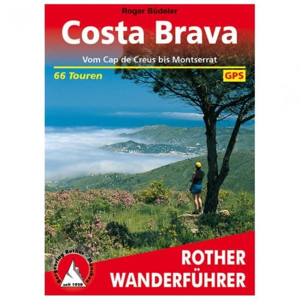 Bergverlag Rother - Costa Brava - Walking guide books