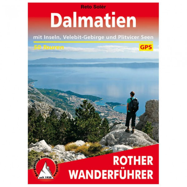 Bergverlag Rother - Dalmatien - Wandelgids