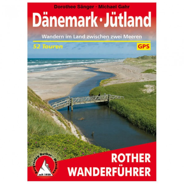 Bergverlag Rother - Dänemark - Jütland - Vandreguides