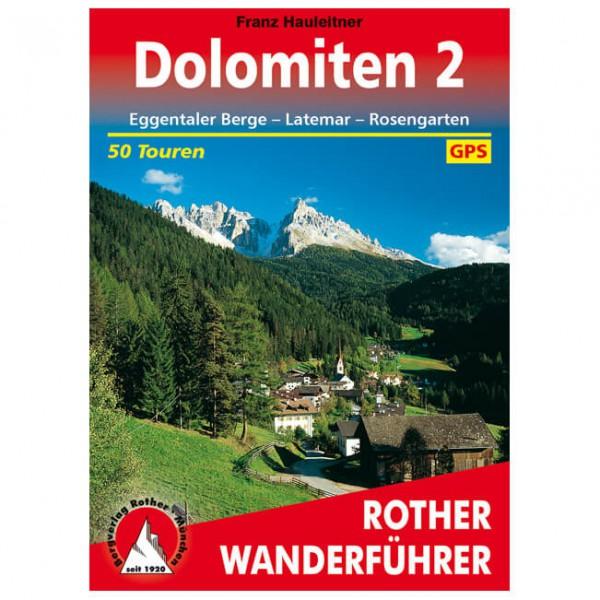 Bergverlag Rother - Dolomiten 2 - Vandreguides