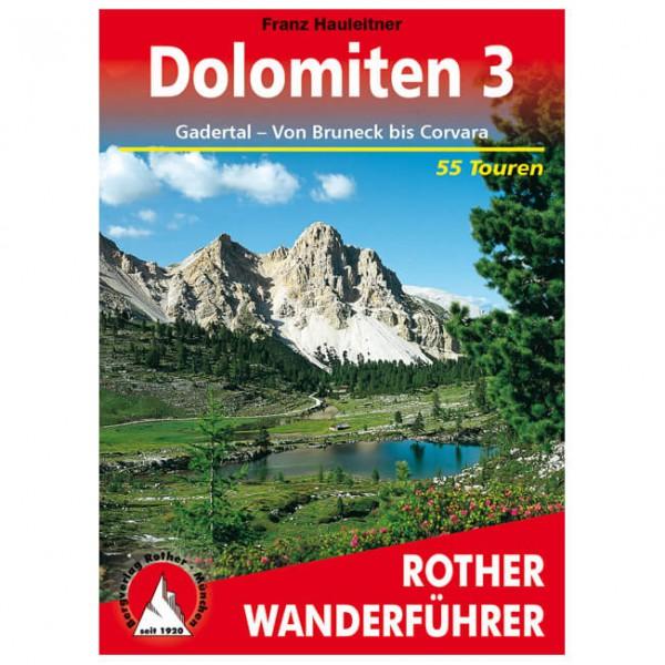 Bergverlag Rother - Dolomiten 3 - Vandringsguider