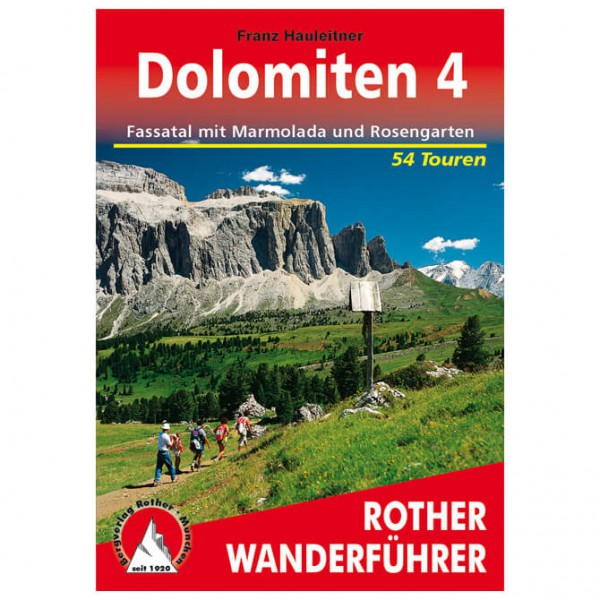 Bergverlag Rother - Dolomiten 4 - Vandringsguider