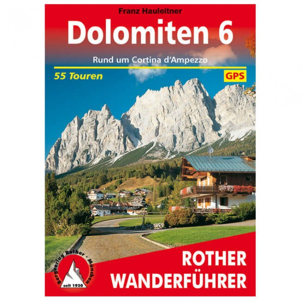Bergverlag Rother - Dolomiten 6 - Walking guide book