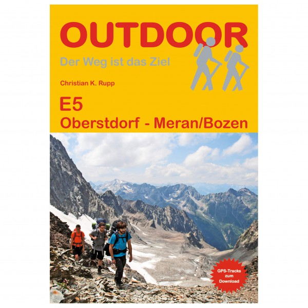 Conrad Stein Verlag - E5 Oberstdorf - Vaellusoppaat