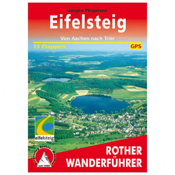 Bergverlag Rother - Eifelsteig - Walking guide books