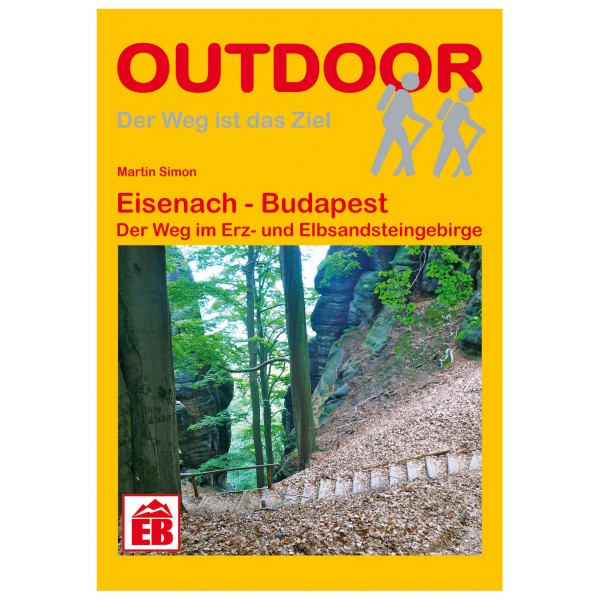 Conrad Stein Verlag - Eisenach - Budapest - Vaellusoppaat