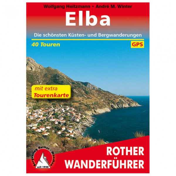 Bergverlag Rother - Elba - Walking guide book