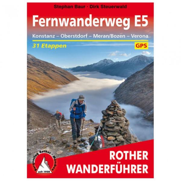 Bergverlag Rother - Fernwanderweg E5 - Hiking guides