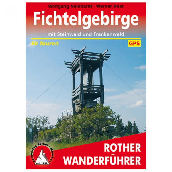 Bergverlag Rother - Fichtelgebirge - Vandringsguider