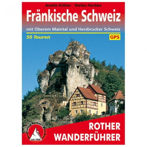 Bergverlag Rother - Fränkische Schweiz - Wandelgidsen