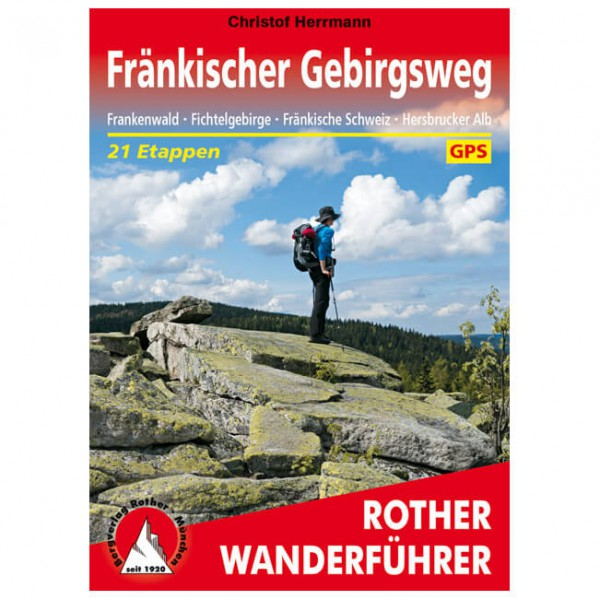 Bergverlag Rother - Fränkischer Gebirgsweg - Vandringsguider