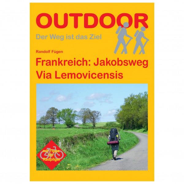 Conrad Stein Verlag - Frankreich: Jakobsweg Via Lemovicensis - Walking guide book