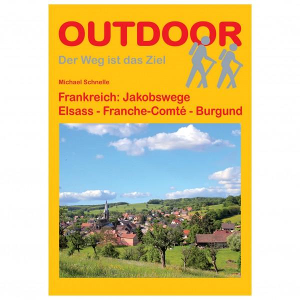 Conrad Stein Verlag - Jakobsweg Elsass-Franche Comté-Burgund - Vandringsguider