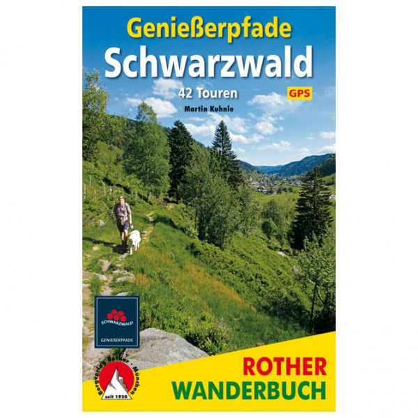 Bergverlag Rother - Genießerpfade Schwarzwald - Walking guide book