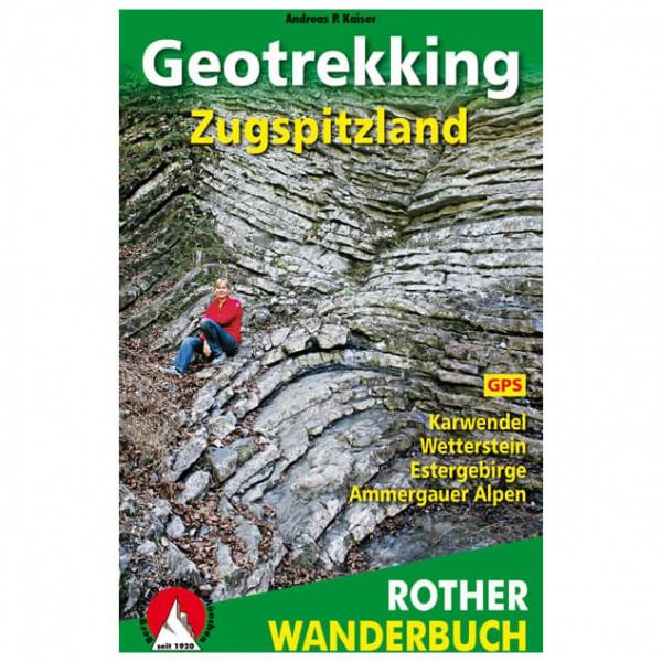 Bergverlag Rother - Geotrekking Zugspitzland - Vandringsguider