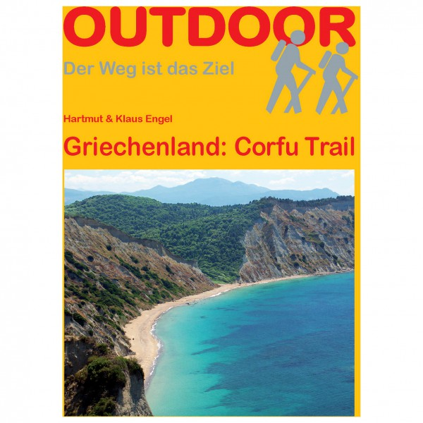 Conrad Stein Verlag - Griechenland: Corfu Trail - Walking guide book