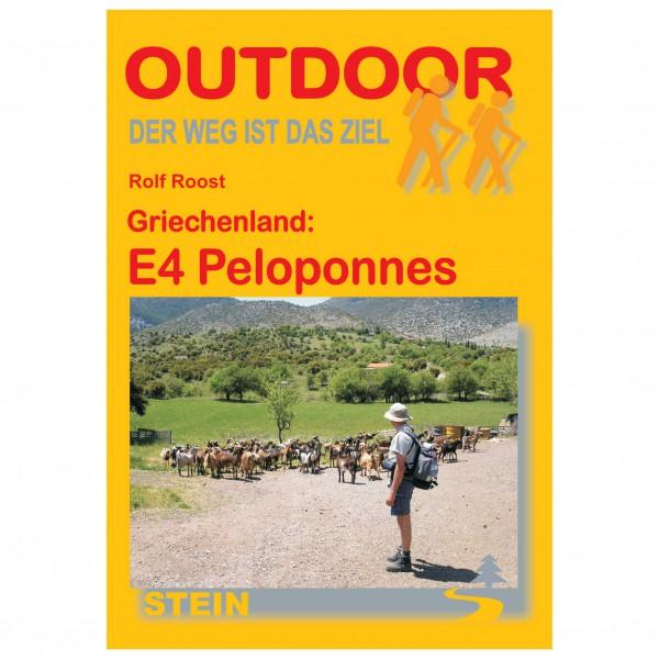 Conrad Stein Verlag - Griechenland: E4 Peloponnes - Wandelgidsen