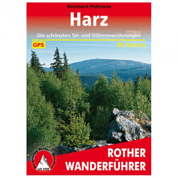 Bergverlag Rother - Harz - Wanderführer