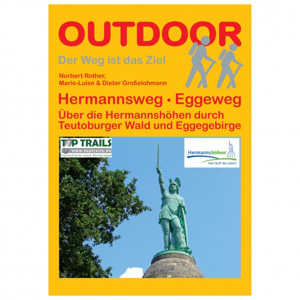 Conrad Stein Verlag - Hermannsweg - Eggeweg - Wandelgidsen