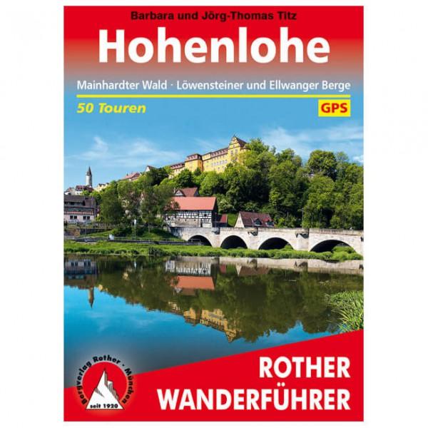 Bergverlag Rother - Hohenlohe - Vandringsguider