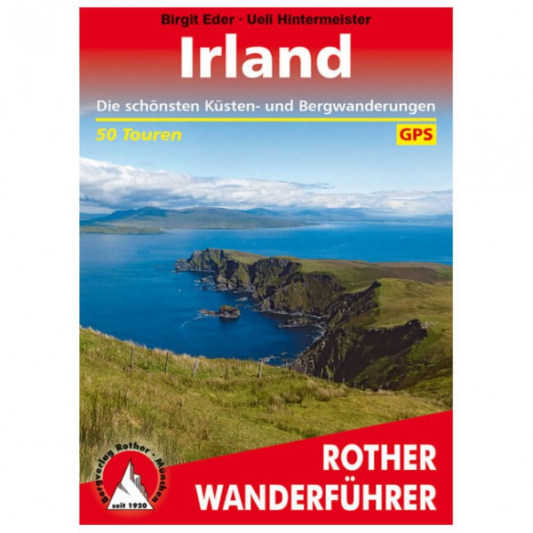 Bergverlag Rother - Irland - Walking guide book