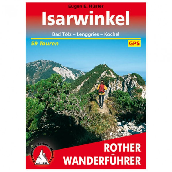 Bergverlag Rother - Isarwinkel - Vandringsguider