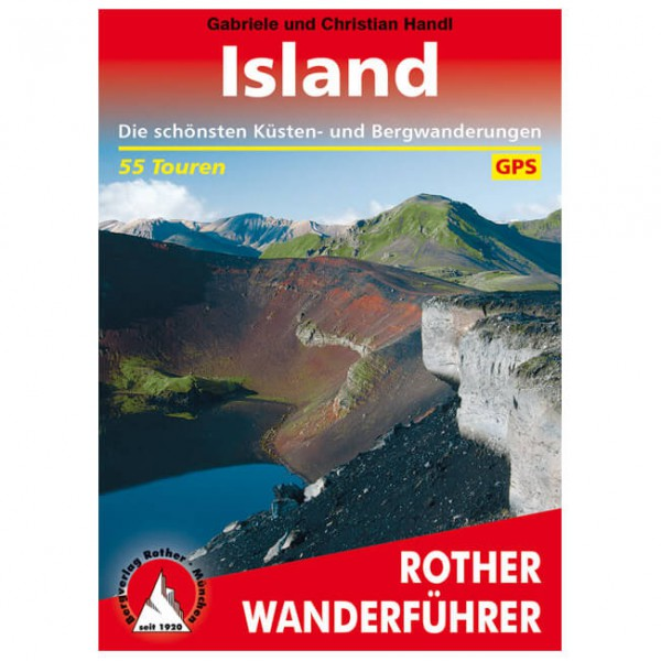 Bergverlag Rother - Island - Walking guide book