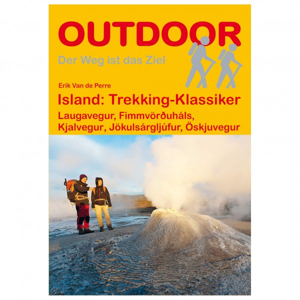 Conrad Stein Verlag - Island: Trekking-Klassiker - Vandreguides