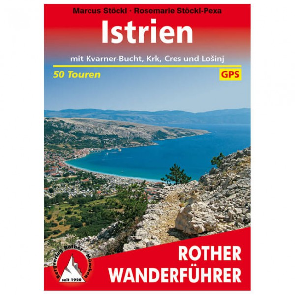 Bergverlag Rother - Istrien - Vandringsguider