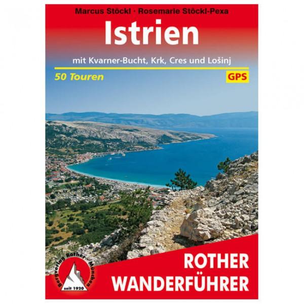 Bergverlag Rother - Istrien - Wandelgidsen